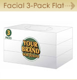 Facial Flat Bundle 3-pack