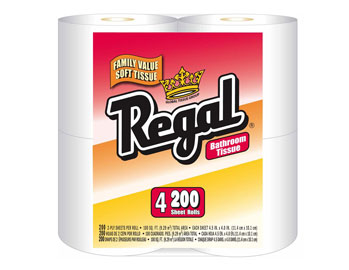 Regal - 4-Pack Bath 200ct